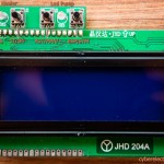 LCD + Buttons